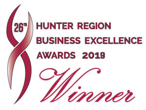 Hunter Regional Award Winner Badge