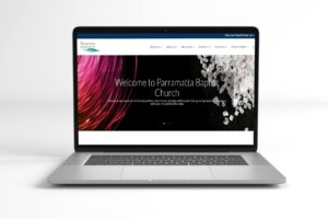 Parramatta Baptist Church Website Portfolio