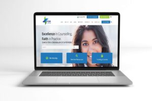 Christian Counsellors Association of Australia Website Preview